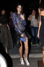 KENDALL JENNER at Vogue 50 Archive Party in Milan