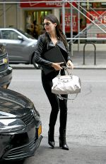 KENDALL JENNER Heading to Meeting in New York