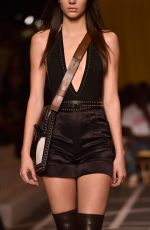 KENDALL JENNER on the Runway of Givenchy Fashion Show in Paris