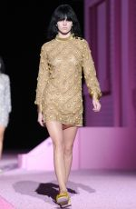 KENDALL JENNER on the Runway of Marc Jacobs Fashion Show in New York