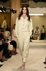 KENDALL JENNER on the Runway of Sonia Rykiel Fashion Show in Paris