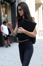 KENDALL JENNER Out and About in New York 0209