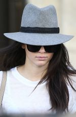 KENDALL JENNER Out and About in Paris 2509