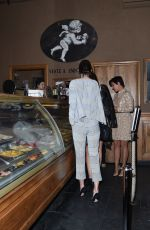 KENDALL JENNER Out for Ice Cream in Paris