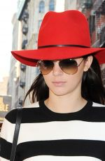 KENDALL JENNER Out Shopping in New York 0409