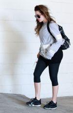 KHLOE KARDASHIAN Heading to a Gym in Los Angeles 1209
