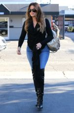 KHLOE KARDASHIAN Out in Beverly Hills 1909