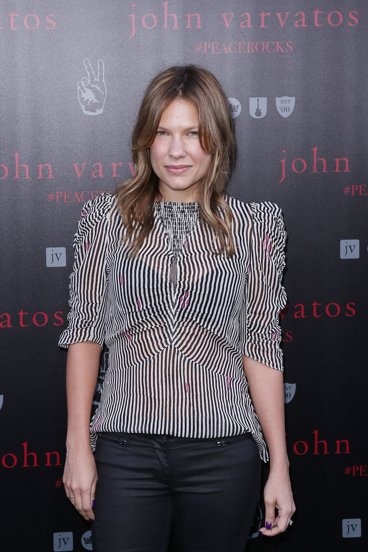KIELE SANCHEZ at John Varvatos International Day of Peace in West Hollywood