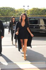 KIM KARDASHIAN Out and About in Paris 2809