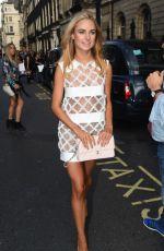KIMBERLEY GARNER at Busardi Fashion Show in London