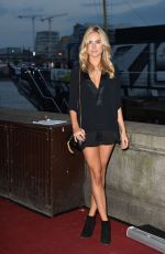 KIMBERLEY GARNER at Mac Launch Party on HMS President in London