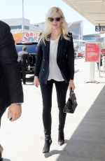 KIRSTEN DUNST Arrives at Los Angeles International Airport