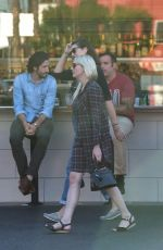 KIRSTEN DUNST at Oaks Gourmet Market in Hollywood Hills