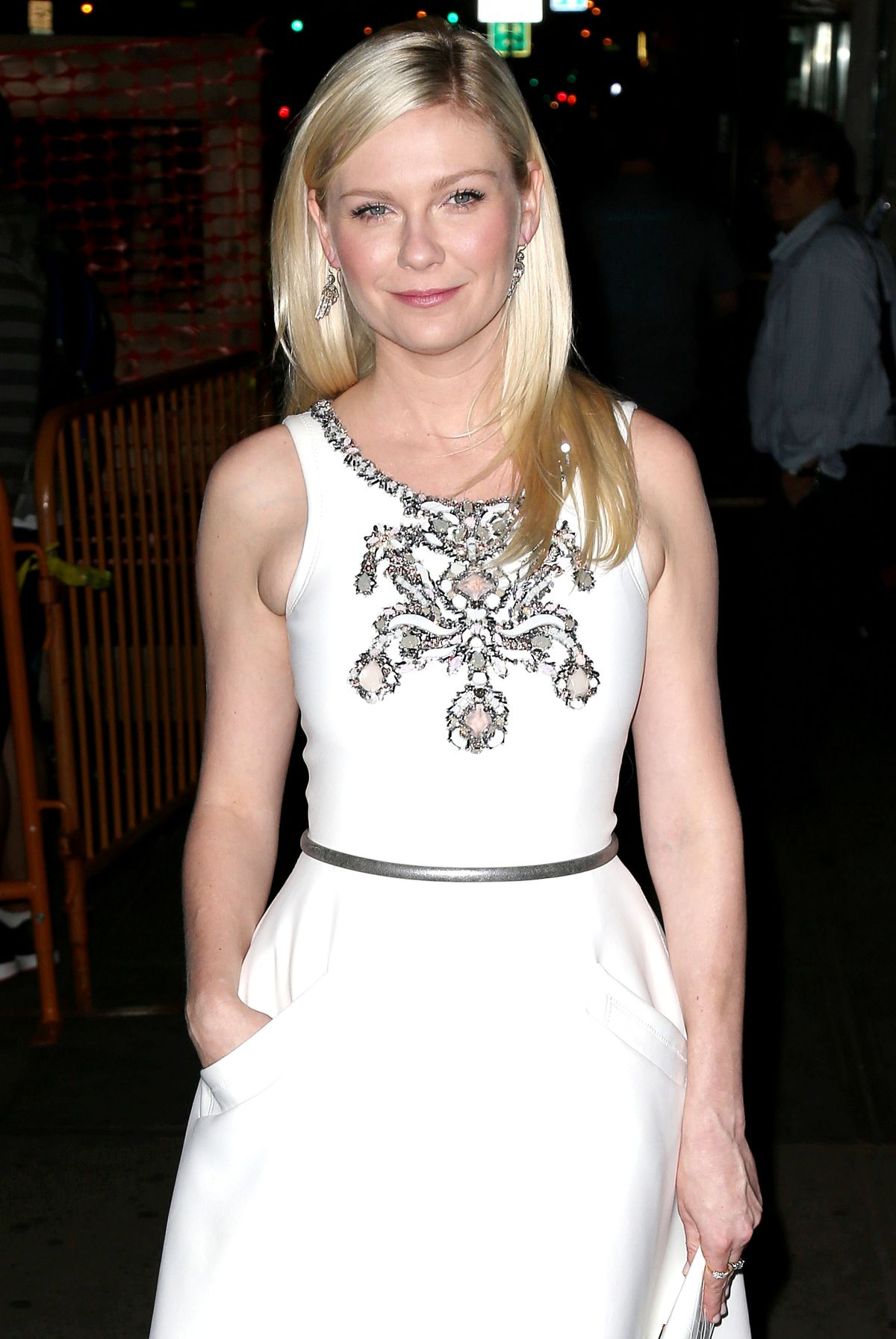 KIRSTEN DUNST at The Two Faces of January Premiere in New York
