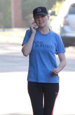 KIRSTEN DUNST in Leggings Out in Los Angeles 2009