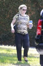 KRISTEN BELL Out and About in Los Angeles