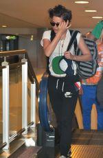 KRISTEN STEWART Arrives at Airport in Tokyo 2709