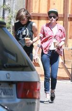 KRISTEN STEWART Out and About in Los Angeles 3108