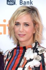 KRISTEN WIIG at Welcome to Me Premiere in Toronto