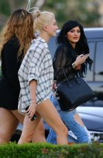 KYLIE JENNER and Friends Leaves Sugarfish Sushi in Calabasas