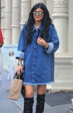 KYLIE JENNER Out and About in New Yotk 0509