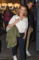 KYLIE MINOGUE at hHeathrow Airport in London 0209