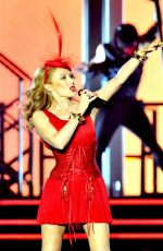 KYLIE MINOGUE Performs at Echo Arena in Liverpool
