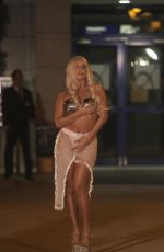 LADY GAGA Arrives at International Airport in Athens