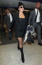 LADY GAGA at Los Angeles International Airport