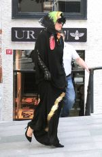LADY GAGA Out Shopping in Istanbul