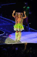 LADY GAGA Performs at Artrave: the Artpop Ball Tour in Amsterdam