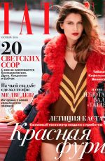 LAETITIA CASTA in Tatler Magazine, Russia October 2014 Issue