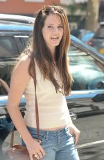 LANA DEL REY in Jeans Out in New York 0409
