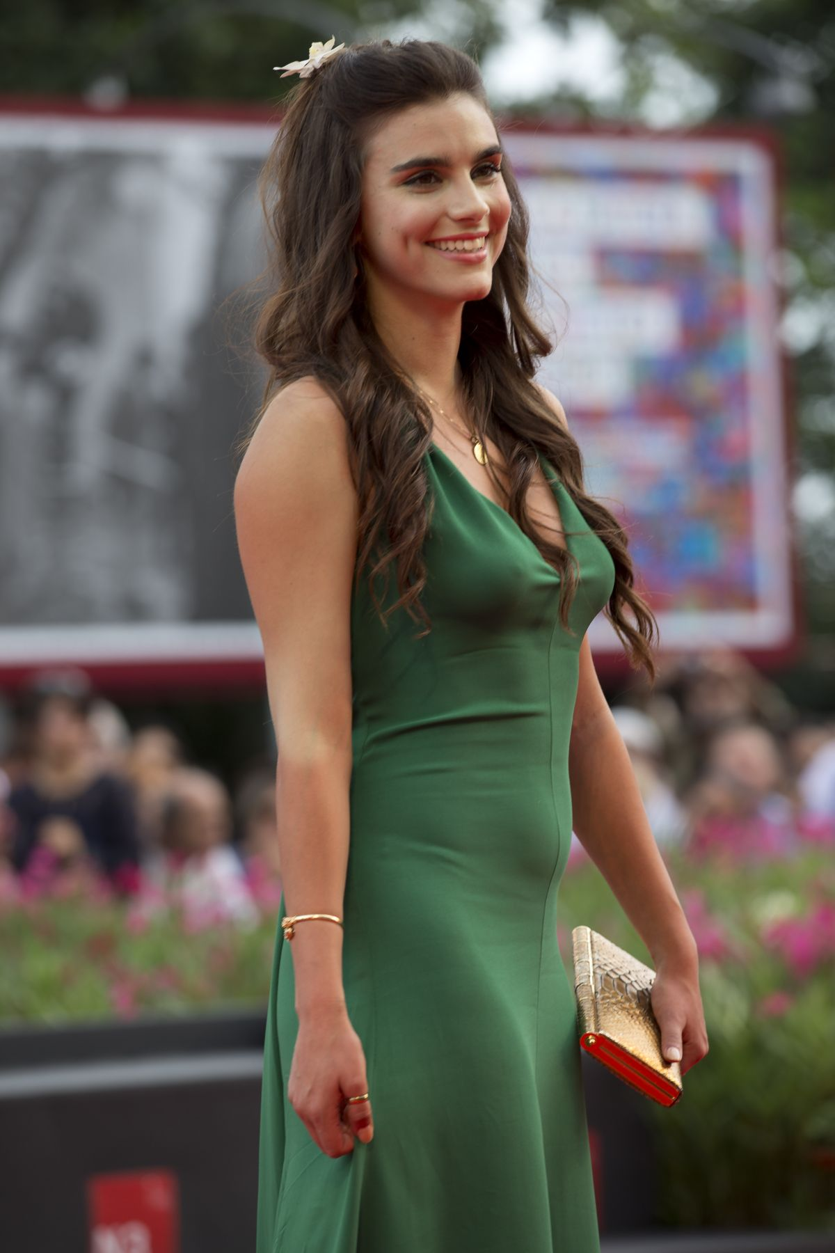 LARA HELLER at The Cut Premiere in Venice
