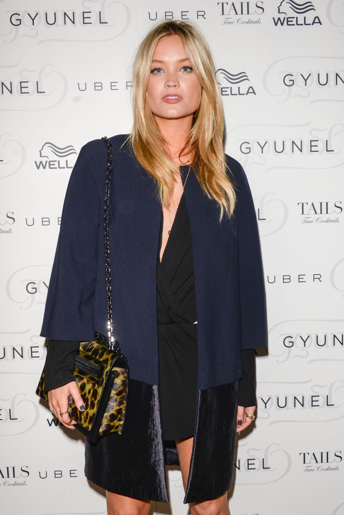 LAURA WHITMORE at Gyunel Fashion Show in London