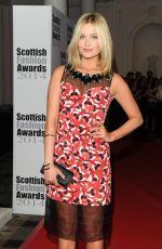 LAURA WHITMORE at Scottish Fashion Awards 2014 in London