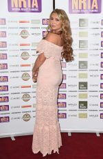 LAUREN GODGER at National Reality TV Awards in London