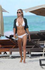 LAUREN STONER in Bikini at a Beach in Miami