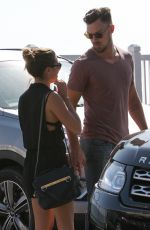 LEA MICHELE and Matthew Paetz Out amd About in Malibu