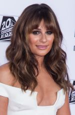 LEA MICHELE at Sons of Anarchy Final Season Premiere in Los Angeles