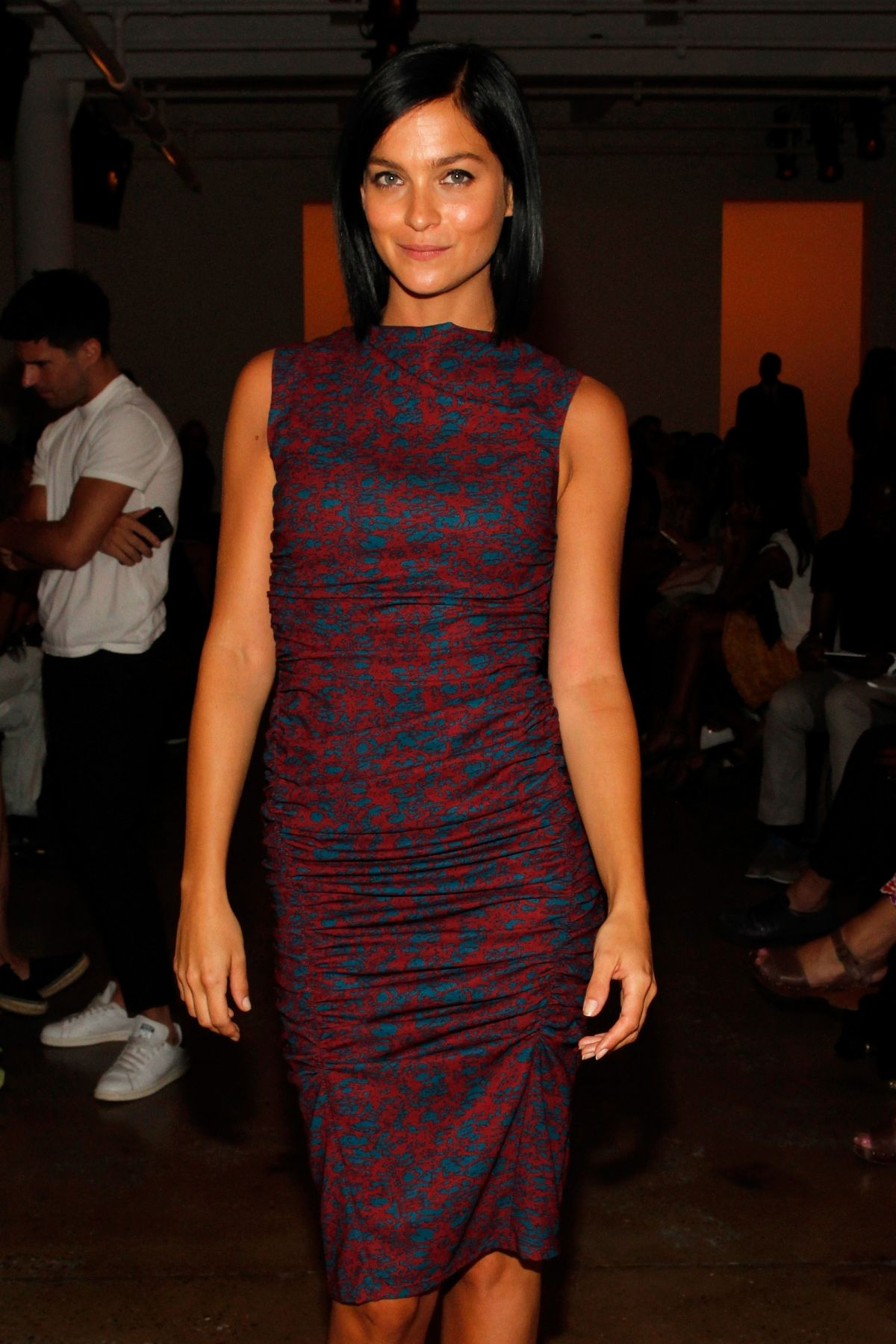 LEIGH LEZARK at Costello Tagliapietra Fashion Show in New York