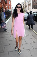 LIBERTY ROSS Leaves Her Hotel in London