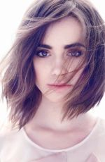 LILY COLLINS - James White Photoshoot for  Yo Dona Magazine