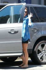 LILY COLLINS Out and About in West Hollywood 0509