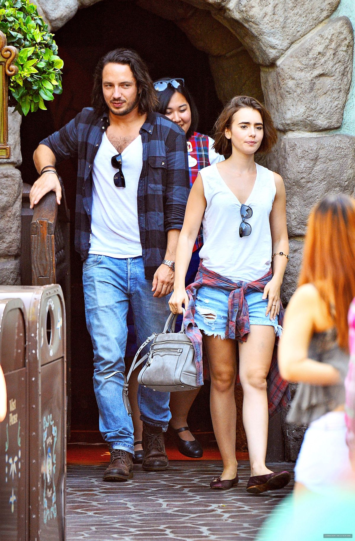LILY COLLINS with New ...