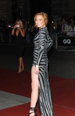 LINDSAY LOHAN at 2014 GQ Men of the Year Awards in London