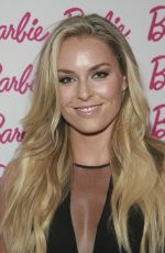 LINDSEY VONN at Barbie and CFDA Event in New York