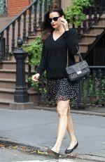 LIV TYLER Leaves Her Apartment in New York