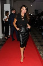 LIZZIE CUNDY at Scottish Fashion Awards 2014 in London