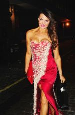 LIZZIE CUNDY Leaves Chiltern Firehouse in London